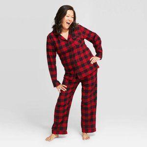 New Target Women's Buffalo Check Flannel Pajamas